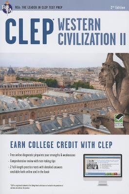 CLEP Western Civilization II W/Online Practice Tests By Rea Editors (COR)